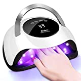 120W UV LED Nail Lamp - Faster Nail Dryer Gel Polish Light,UV Gel Lamp With 36 Light Beads & 4 Timer Setting,Professional Curing Lamp For Fingernail And Toenail,Auto Sensor & Quick Dry Nail Machine