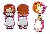 DISOK - Memoria USB Niña Comunion 4Gb