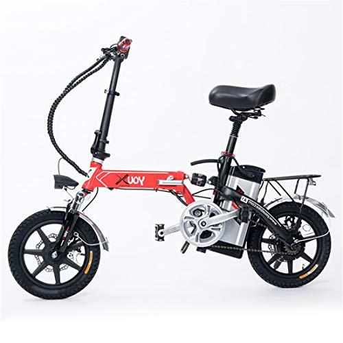 Lvbeis Adulti Bicicletta Elettrica Pieghevole Bici Pedalata Assistita City Bike Portatile velocità Fino A 40 Km/h E-Bike da Strada