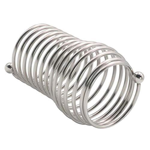 Herrenring aus Edelstahl, Clrcu'mclsion, Eisen-Ring Gr. Einheitsgröße, 40mm