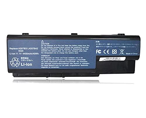 JTKLION AS07B31, AS07B32, AS07B41 Batería para portátil Acer Aspire 7520, 7520G, 7530,...