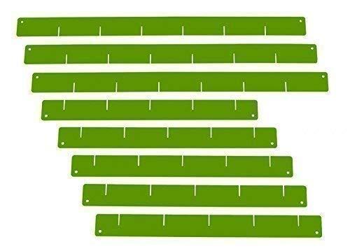 Schubladeneinteiler, grün- Set, für Werkstattwagen