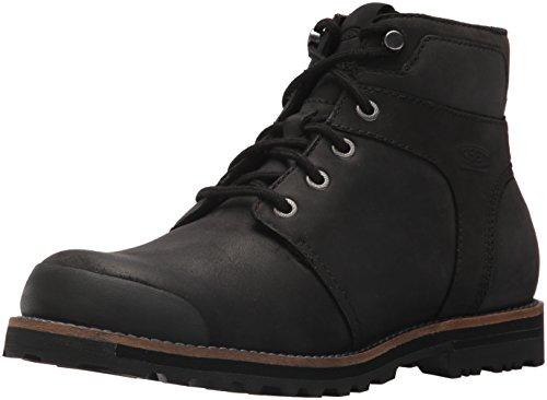 KEEN Men's The Rocker wp-m Hiking Boot, Black/Black, 10 M US