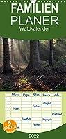Waldkalender - Familienplaner hoch (Wandkalender 2022 , 21 cm x 45 cm, hoch): Wege und Baeume wie im Maerchenwald (Monatskalender, 14 Seiten )