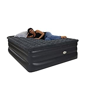 Check Price Smart Air Beds Smart Air Beds BD-912 Raised Pillowtop