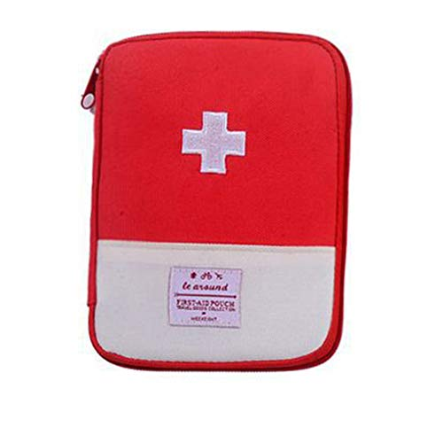Guangcailun Kit de Supervivencia Bolsa médica de Emergencia Bolsa de Primeros Auxilios del Recorrido del hogar CPIng