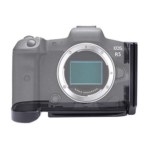 Verstellbare vertikale Schnellwechselplatte Handgriff Halterung L Halterung fur Canon EOS R5 R6 spiegellose Kamera