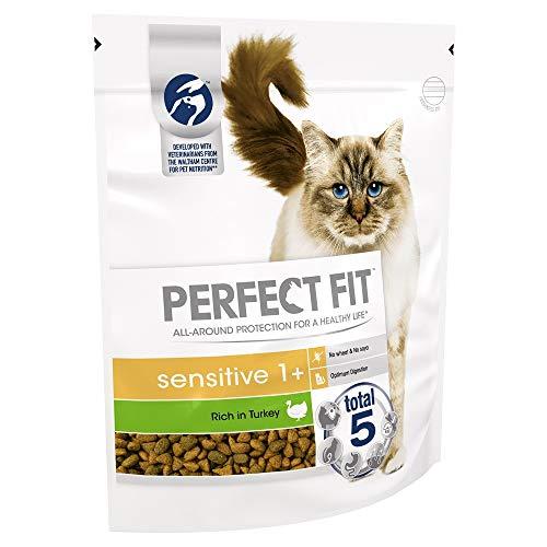 Perfect Fit Katzen-Trockenfutter Truthahn, 3 x 750g