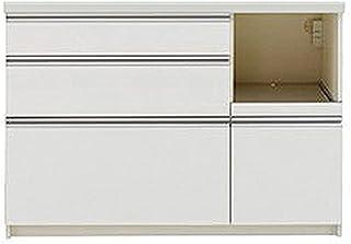 パモウナ 食器棚 幅120×高さ85×奥行45 日本製 WLR-S1200R下台