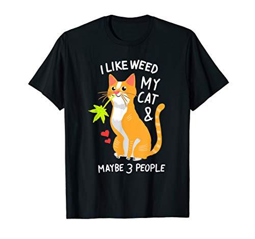 420 Weed Cat Pot Kitten Cannabis Leaf Shirt Art Gift Women