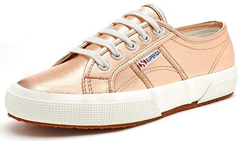 Superga 2750 Cotmetu, Damen Low-Top Sneaker, Gold (Rose Gold), 40 EU (6.5 UK)