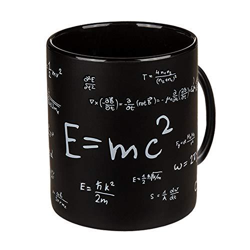 Monsterzeug Tasse für Mathematiker, Kaffeebecher mit Matheformeln, Große Kaffeetasse für Nerds, Lustige Lehrer Geschenke, 850 ml Füllmenge