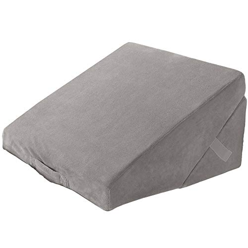 Best Comfort Folding Memory Foam Bed Wedge Pillow - 4...