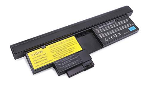 Batterie LI-ION 4400mAh 14.4V Noir Compatible pour IBM Lenovo Thinkpad X200 Tablet-PC, 201 Tablet remplace 43R9257 / 43R9256 / 42T4564 / 42T4564