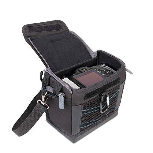 USA Gear Custodia Borsa Portatile per Fotocamera Digitale SLR con Laccio da Spalla Funziona con Fujifilm / Canon EOS 1300D , 100D / Nikon D3300 e altri