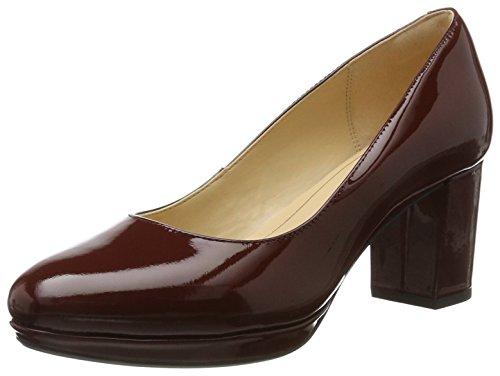 Clarks Kelda Hope, Zapatos Tacón Mujer, Rojo Rust