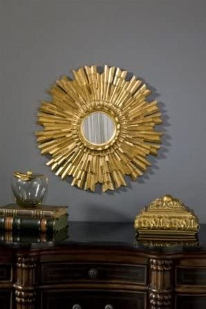 Made4Mansions 22 in. Sales results No. 1 Eleganza Gold Decorative Leaf Mirror Sales of SALE items from new works