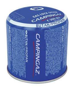 Campingaz C206 GLS - Cartucho de presión (10 unidades, con sistema de retención de gas)