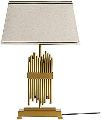 LXQGR Lámpara de Mesa LED Mesa de Noche lámpara de Mesa protección Ocular E26 Moderna Tela
