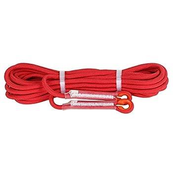 LIFEIYAN Alpinisme Corde Auxiliaire Corde Corde Évasion Corde Corde d'escalade Extérieure Corde À Linge Corde d'escalade (Color : Red, Size : 10m)