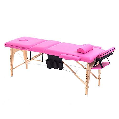 PQXOER Table de Massage Portable Table de Massage Pliante légère Facial Spa Lit Tattoo Beauté...