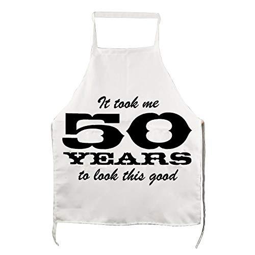 delantal 50 cumpleaños fabricante Pealrich