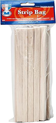 Wood Strip Economy Bag, Balsa & Basswood