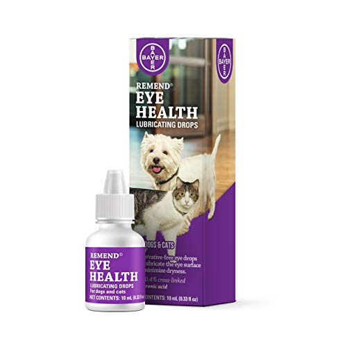 Remend Eye Health Lubricating Drops for Dogs and Cats, 10 mL