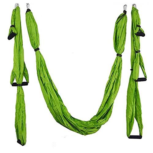 Linyuex Anti-Gravedad Yoga Hamaca Swing Parachute Tela Yoga Gimnasio Colgando Humedura de Alta Resistencia Hamaca (Color : Style L)