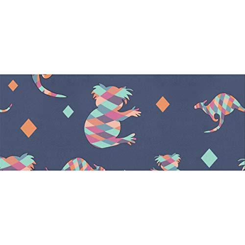 Kalamazoo Kangaroo Australia Flat Christmas Wrapping Paper 58x23inch 2 Rollos Papel de regalo Papel de envolver Navidad para el día de la madre Pascua Bodas Cumpleaños o cualquier ocasión