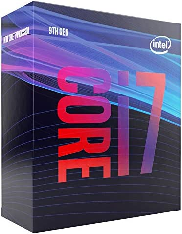 Intel Core i7 9700 Desktop Processor 8 Cores up to 4 7 GHz LGA1151 300 Series 65W product image