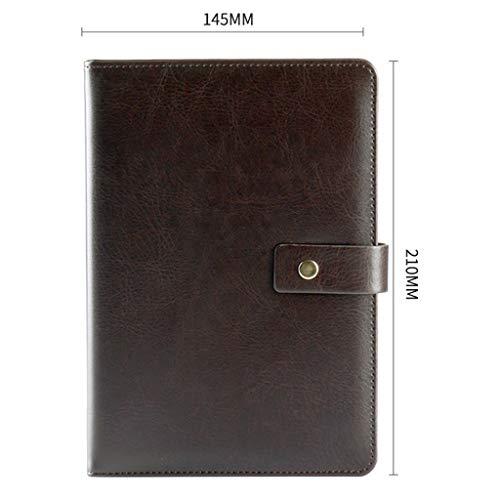 AJZGF Notizblock Sub-Notebook, Notizblock, A5 Notizbuchbuch-Briefpapier Business-Notebook (3) Notebook-Tasche (Color : A)