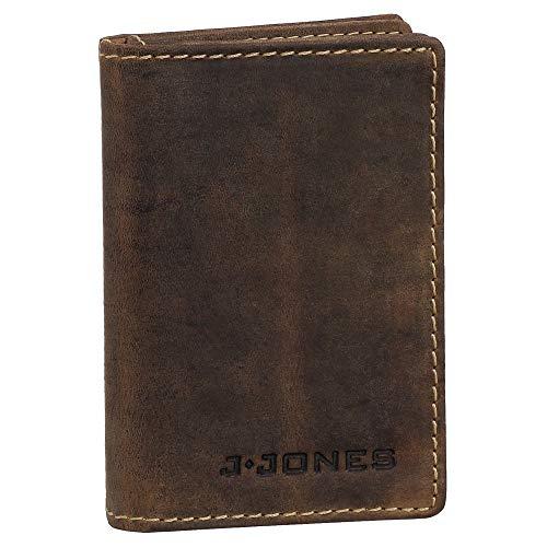 Ledershop24 Geschenkset - RFID & NFC Ausweisetui Leder Ausweismappe Ausweishülle Kreditkartenetui Kartenetui Führerschein Farbe Braun 5495