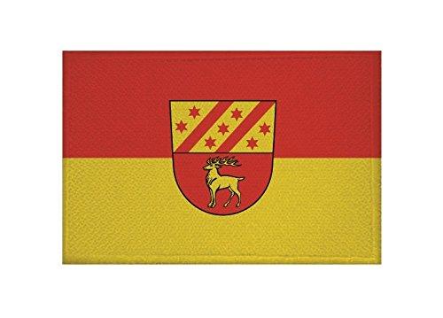 U24 Aufnäher Bingen (Baden-Württemberg) Fahne Flagge Aufbügler Patch 9 x 6 cm
