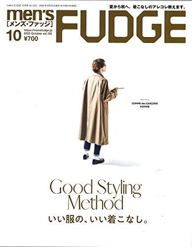 men's FUDGE - メンズ ファッジ - 2020年 10月号 Vol.125