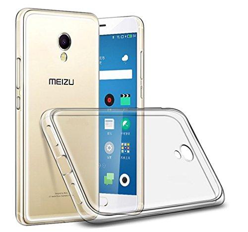 Tumundosmartphone Custodia di Gel TPU FINA Ultra-Thin 0,3mm Trasparente per MEIZU M5s