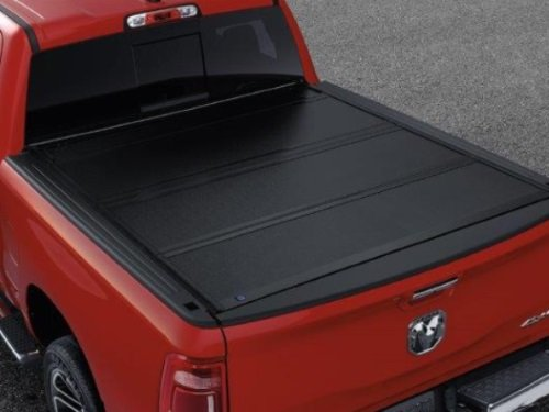 82215227AB 2019 Ram 1500 Tonneau Cover - Hard Folding - For Conventional Bed 5'7'