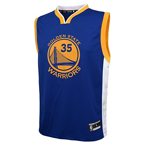 Outerstuff NBA Boys' Replica Player Jersey-Road, Kevin Durant, Youth X-Large(18)