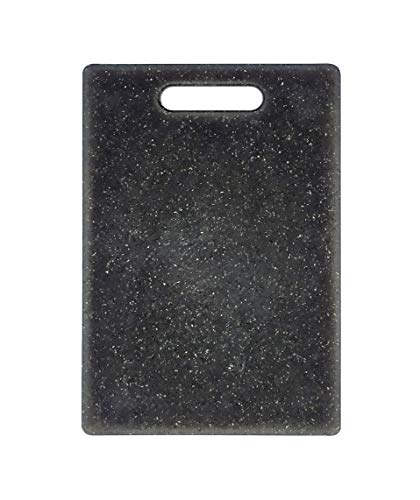 EUROXANTY Tabla de Corte Efecto Granito | Tabla de Polietileno de diseño Elegante | Tabla para Cortar Alimentos | Tabla Espesor 8 mm | 25 x 15 cm
