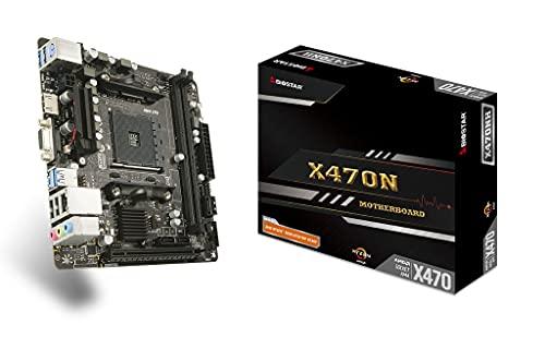 Biostar MB X470NH (X470, AM4, mITX, DDR4, VGA, AMD), zócalo AMD AM4 (Ryzen)