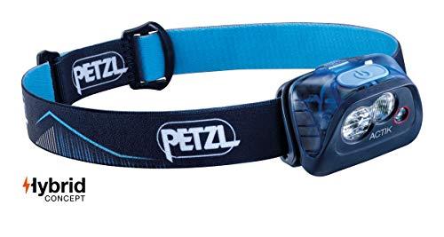 PETZL Lampe Bleue, Lampada Actik Blu Frontale, Taglia Unica Unisex Adulto