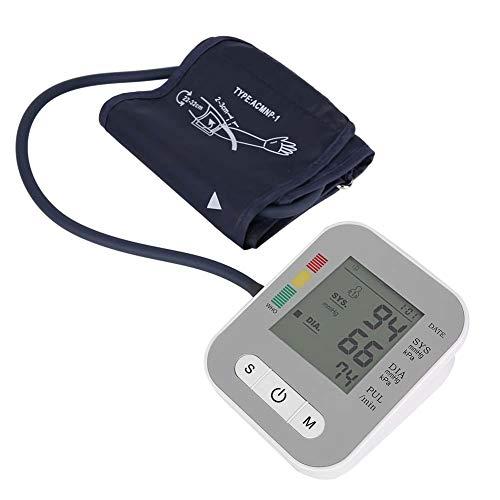 Denkerm Monitor de presión Arterial, pulsioxímetro de Dedo, Monitor médico de presión Arterial para la Parte Superior del Brazo, Monitor de presión Arterial ambulatoria Digital para Adultos Mayores