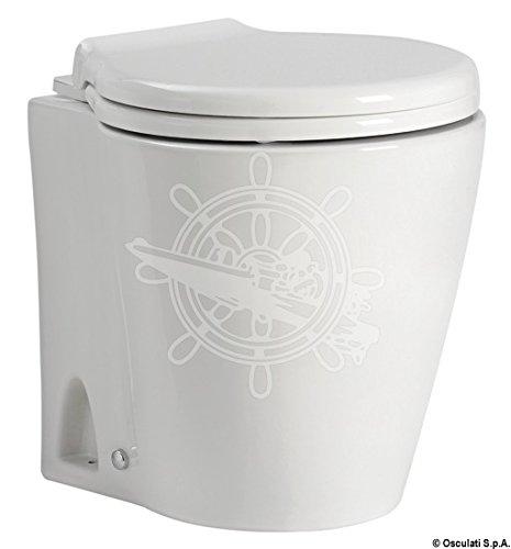 Osculati WC Silent Slim automatico 12 V (Vacuum Slim Automatic WC 12 V)
