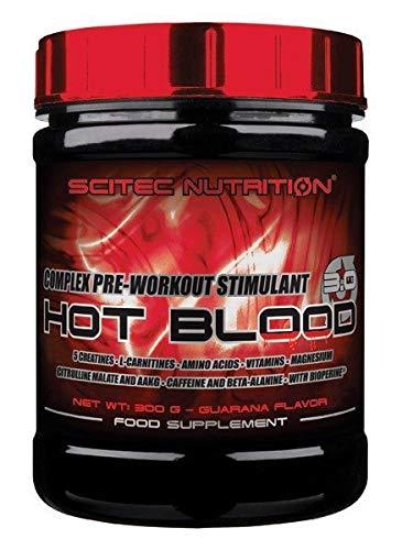 Scitec Nutrition - Hot Blood 3.0 - 820gr - Blaue Guarana
