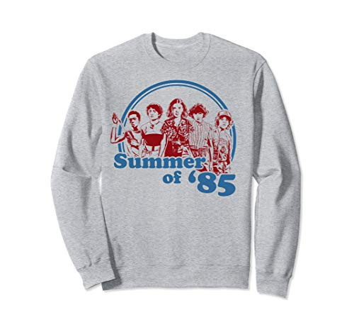 Netflix Stranger Things Summer Of '85 Group Shot Sweatshirt