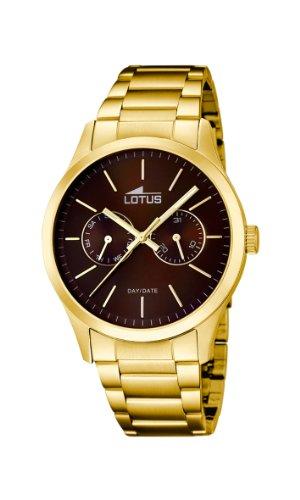 Lotus 15955/3 - Reloj de Cuarzo para Hombre, con Correa de Acero Inoxi