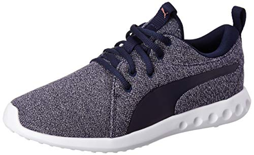PUMA Carson 2 Knit NM Wns, Scarpe Running Donna, Blu (Peacoat-Rose Gold), 43 EU