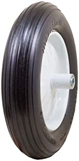 Best two wheel wheelbarrow flat free tires Reviews