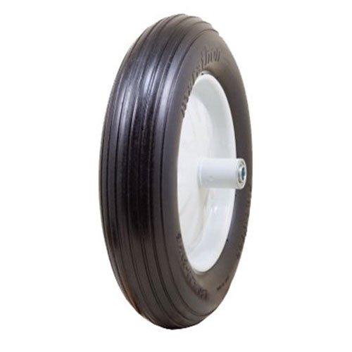 "5//8/"" Bearings 5/"" Centered Hub Marathon 11x4.00-5/"" Flat Free Tire on Wheel"