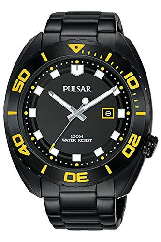 PULSAR Orologio Analogico Quarzo Uomo con Cinturino in Acciaio Inox PG8285X1